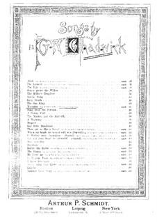 Ноктюрн для меццо-сопрано или баритона и фортепиано: Ноктюрн для меццо-сопрано или баритона и фортепиано by Джордж Уайтфилд Чедуик
