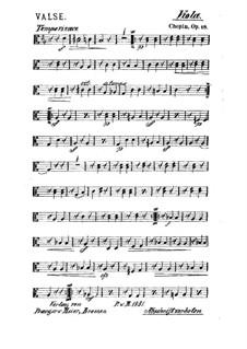 Большой блестящий вальс ми-бемоль мажор, Op.18: Для струнного квинтета – Партия альта by Фредерик Шопен