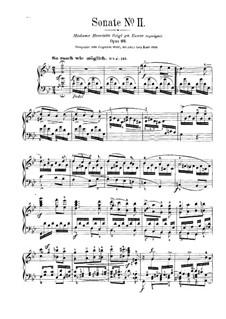 Соната No.2 соль минор, Op.22: Для фортепиано by Роберт Шуман
