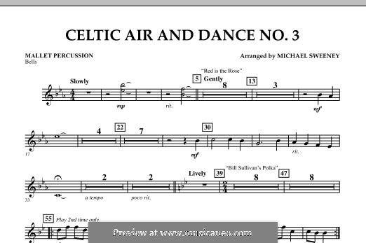 Celtic Air and Dance No.3: Mallet Percussion part by folklore