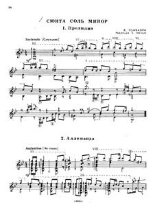 Suite in G Minor: Suite in G Minor by Людовико Ронкалли