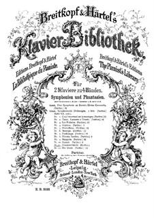 Симфоническая поэма No.11 'Битва гуннов', для двух фортепиано в четыре руки, S.645: Симфоническая поэма No.11 'Битва гуннов', для двух фортепиано в четыре руки by Франц Лист