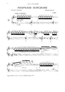 No.11-19, S.244: No.11-19 by Франц Лист