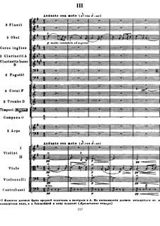 Симфония 'Манфред', TH 28 Op.58: Часть III by Петр Чайковский