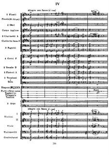 Симфония 'Манфред', TH 28 Op.58: Часть IV by Петр Чайковский