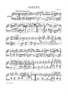 Соната для фортепиано No.54 соль мажор 'Bossler Sonatas', Hob.XVI/40: Для одного исполнителя by Йозеф Гайдн