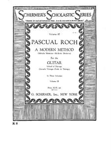 Современный метод игры на гитаре: Сборник III by Франсиско Таррега