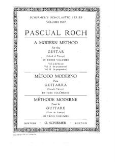 Современный метод игры на гитаре: Сборник I by Франсиско Таррега
