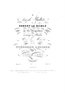Роберт-Дьявол: Choeur dansé, for Harp by Джакомо Мейербер
