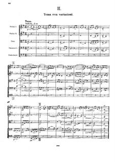Симфония No.6 до минор, Op.58: Часть II by Александр Глазунов