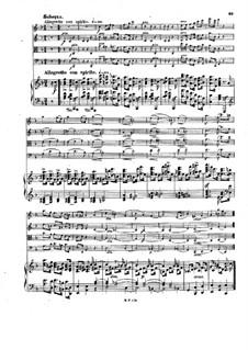 Фортепианный квинтет No.1 си-бемоль мажор, Op.30: Части III-IV – партитура by Карл Голдмарк