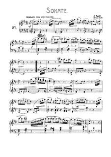 Соната для фортепиано No.56 ре мажор 'Bossler Sonatas', Hob. XVI/42: Для одного исполнителя by Йозеф Гайдн