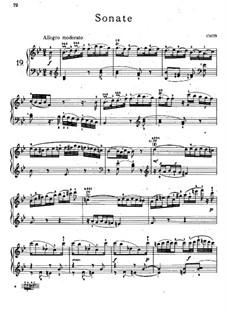 Соната для фортепиано No.20 си-бемоль мажор, Hob.XVI/18: Для одного исполнителя by Йозеф Гайдн