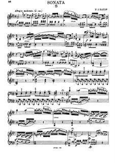 Соната для фортепиано No.31 ля-бемоль мажор, Hob.XVI/46: Для одного исполнителя by Йозеф Гайдн