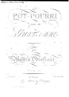 Попурри для гитары, Op.18: Попурри для гитары by Мауро Джулиани