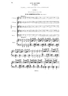 Polyeucte: Acts II, III. Arrangement for voices and piano by Шарль Гуно