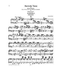 Тетрадь II: Для двух фортепиано в восемь рук by Антонин Дворжак