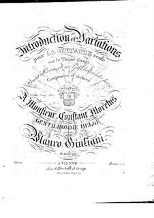 Интродукция и вариации для гитары, Op.99: Интродукция и вариации для гитары by Мауро Джулиани