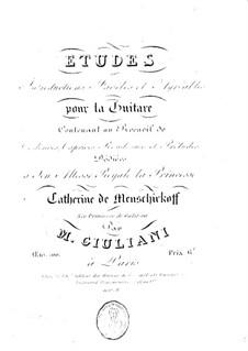 Двадцать четыре этюда для гитары, Op.100: Весь сборник by Мауро Джулиани