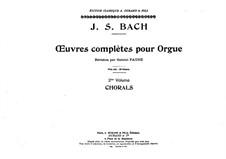 Полное собрание сочинений для органа: Том II, Тетрадь I by Иоганн Себастьян Бах