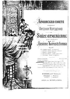 Армянская сюита, Op.20: Армянская сюита by Арсений Корещенко