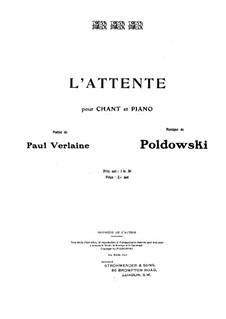 L'attente: L'attente by Poldowski