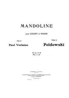 Мандолина: Мандолина by Poldowski