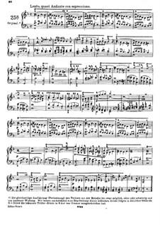 Двадцать пять этюдов для фортепиано, Op.78: Этюд No.25a фа мажор by Даниэль Штайбельт
