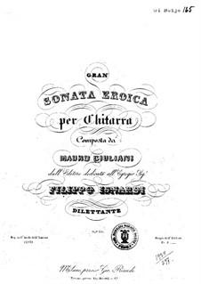 Большая героическая соната ля мажор, Op.150: Для гитары by Мауро Джулиани