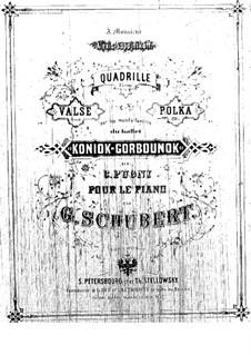 Конёк-Горбунок: Полька, для фортепиано by Цезарь Пуни