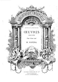 Избранные произведения для фортепиано, Op.11, 18, 20, 21, 22: Часть I by Жан-Анри Равина