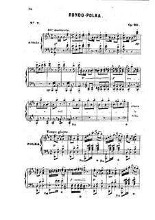 Избранные произведения для фортепиано, Op.11, 18, 20, 21, 22: Часть II by Жан-Анри Равина