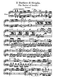 Севильский цирюльник: Для солистов, хора и фортепиано (Английский и итальянский тексты) by Джоаккино Россини