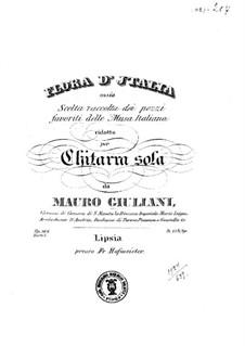 Flora d'Italia, Op.146: Книга I by Мауро Джулиани