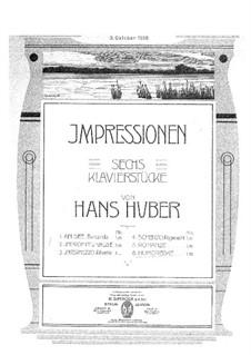 Шесть пьес: No.6 Юмореска by Ханс Хубер
