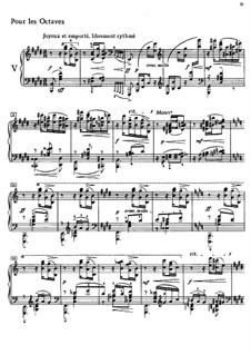 Этюды, L.136: No.5 Октавы by Клод Дебюсси