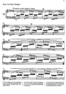 Этюды, L.136: No.6 для восьми пальцев by Клод Дебюсси