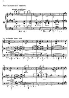 Этюды, L.136: No.10 Противоположение звучностей by Клод Дебюсси