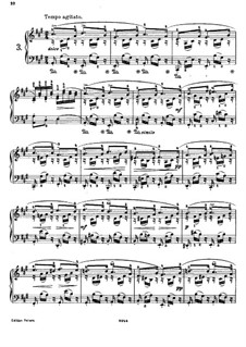 Двадцать пять этюдов для фортепиано, Op.78: Этюд No.3 ля мажор by Даниэль Штайбельт