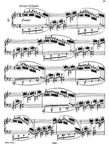 Двадцать пять этюдов для фортепиано, Op.78: Этюд No.5 си-бемоль мажор by Даниэль Штайбельт