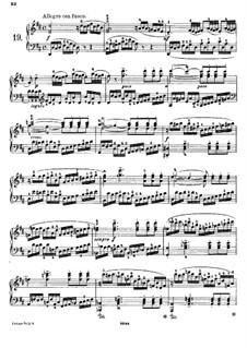 Двадцать пять этюдов для фортепиано, Op.78: Этюд No.19 ре мажор by Даниэль Штайбельт