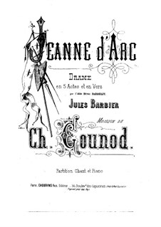 Жанна д'Арк: Жанна д'Арк by Шарль Гуно