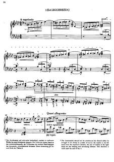 Три концертных этюда, S.144: No.2 Lightness by Франц Лист