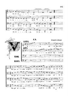 Veni Sancte Spiritus: Для смешанного хора by Грегорио Аллегри