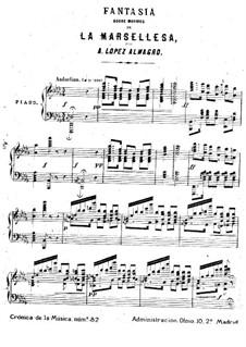 Фантазия на тему песни 'Марсельеза': Фантазия на тему песни 'Марсельеза' by Antonio López Almagro