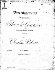 Progressive Divertissements: Книга II by Карл Вильгельм Август Блум