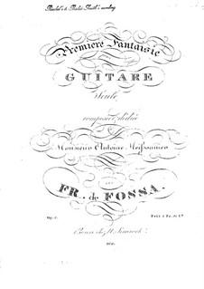 Premiere Fantasy, Op.5: Premiere Fantasy by François de Fossa