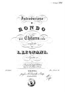 Introduction and Rondo, Op.62: Introduction and Rondo by Луиджи Леньяни