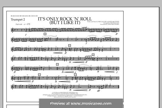 It's Only Rock 'n' Roll (But I Like It): Trumpet 2 part by Keith Richards, Mick Jagger