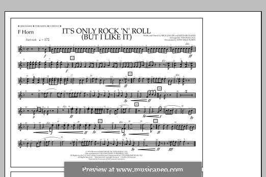 It's Only Rock 'n' Roll (But I Like It): F Horn part by Keith Richards, Mick Jagger